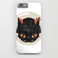iPhone & iPod Case featuring Devil cat by Exit Man