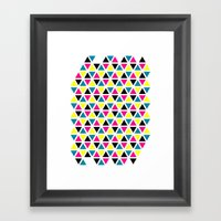 CMYK II Framed Art Print