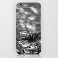 Waterfall Snowfall iPhone 6 Slim Case