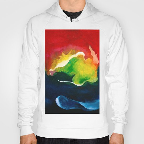 Water and Fire Hoody
