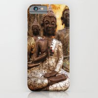 iPhone & iPod Case featuring the 4 Buddhas by Jo.PinX