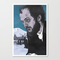 Stanley Kubrick Canvas Print