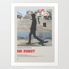Mr. Robot Poster No 7 Art Print