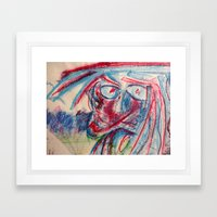 Laugh Framed Art Print