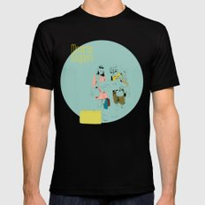 Moonrise Mens Fitted Tee Black SMALL