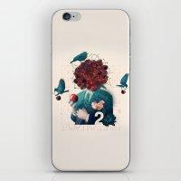 fructum caput iPhone & iPod Skin