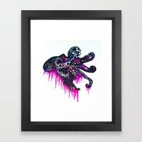 Octopie Framed Art Print