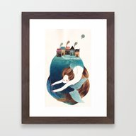 ISLAND IV Framed Art Print