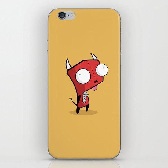 Devil Gir iPhone & iPod Skin