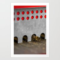 The Bee Has The Entry Of… Art Print
