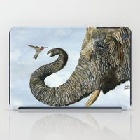Elephant Cyril And Hummi… iPad Case