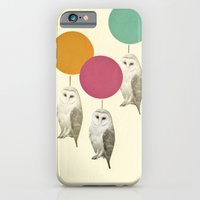 iPhone Cases featuring Balloon Landing by Cassia Beck