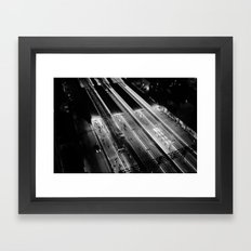 View on South Yarra station, Melbourne Framed Art Print