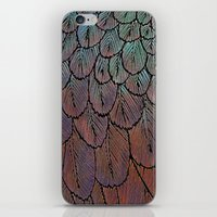 Feather Detail iPhone & iPod Skin