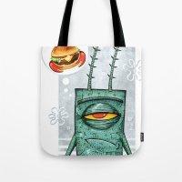 Sheldon James Plankton Jr Tote Bag