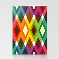 Squares & Colours Stationery Cards
