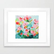 Afterglow Cherry Framed Art Print