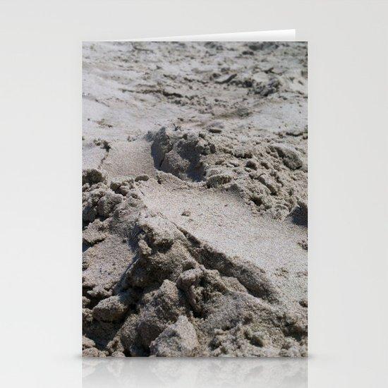Galveston's Sand Stationery Card