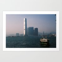 Star Ferry Art Print