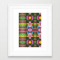 Tropical Boho Framed Art Print