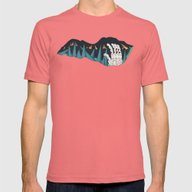Journey To The Center Of… Mens Fitted Tee Pomegranate SMALL