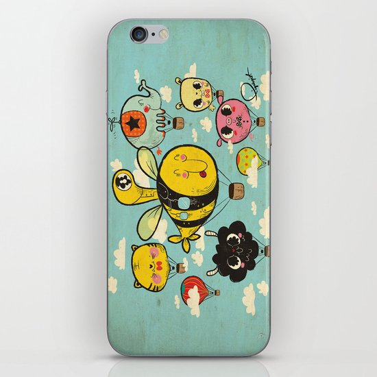 飞行者 HapPig Flight/The HapPig Voyagers iPhone & iPod Skin