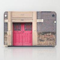 Red Door iPad Case