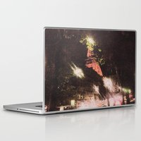 eiffel Laptop & iPad Skins featuring Eiffel by AZerhusen