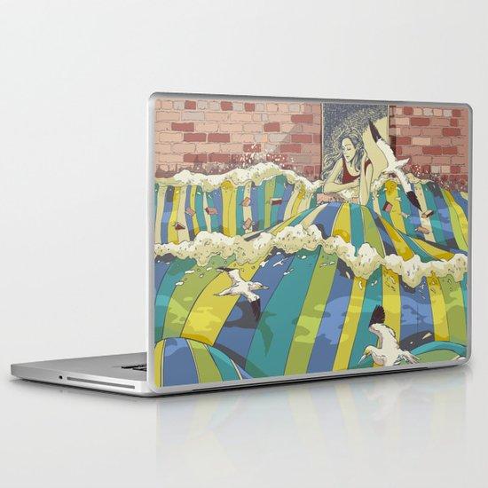 The Losing Wall Laptop & iPad Skin