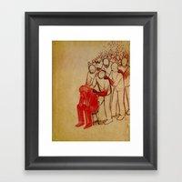 Dear Parents At Sandy Ho… Framed Art Print