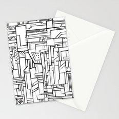 Electropattern(B&W) Stationery Cards