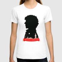 sherlock T-shirts featuring Sherlock by Duke Dastardly