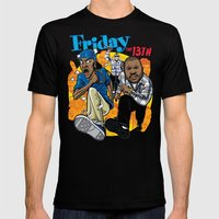 Friday The 13th Mens Fitted Tee Black SMALL