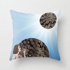 Lace Bubbles Throw Pillow