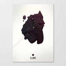 CORE Black 4 Canvas Print
