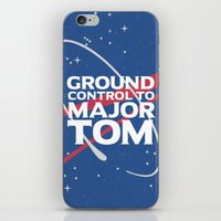 Ground Control to Major Tom iPhone & iPod Skin