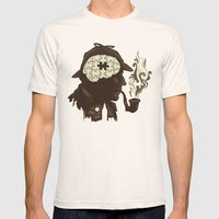 Puzzle Solved Mens Fitted Tee Natural SMALL