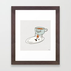 Tea Baggin' Framed Art Print