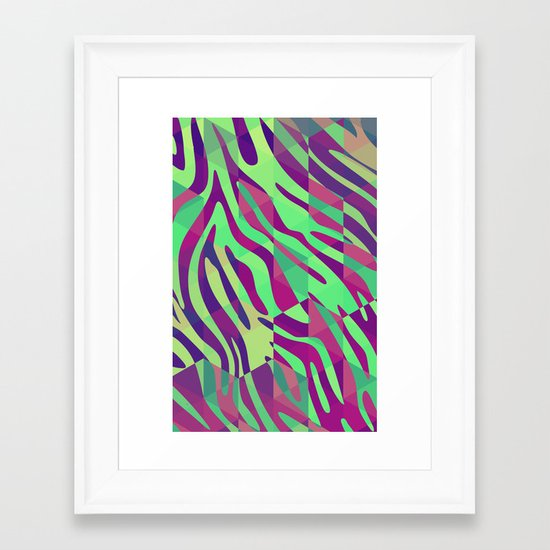 Zebragon Framed Art Print