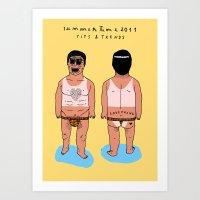 SUMMERTIME Tips & Trends Art Print