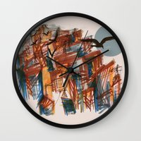 The City Pt. 2 Wall Clock