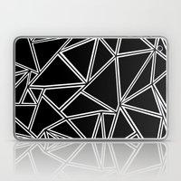 Shattered Ab Zoom  Laptop & iPad Skin