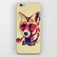 Vintage Fox iPhone & iPod Skin