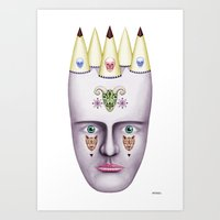 Skulls 2 Art Print