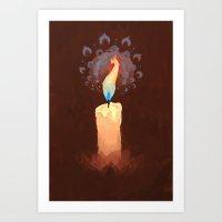 Phoenix Flame Art Print