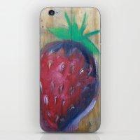 strawberry fields iPhone & iPod Skin
