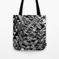 Moving Panes Black & Whi… Tote Bag