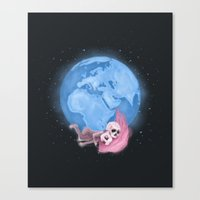 Lost In A Space / Homeck… Canvas Print