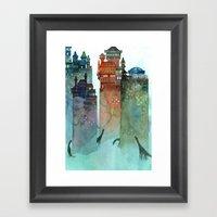 Hunters Framed Art Print
