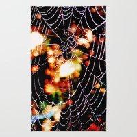Spider Love Rug